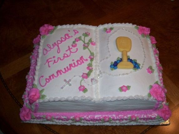 torta prima comunione bambina