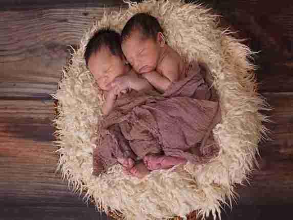 gemelli dormono