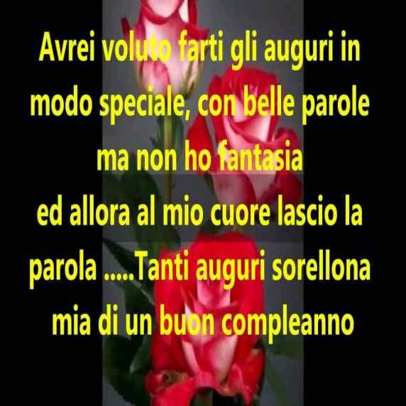 Buon Compleanno Sorella Le Frasi Piu Belle Da Dedicare Passione Mamma