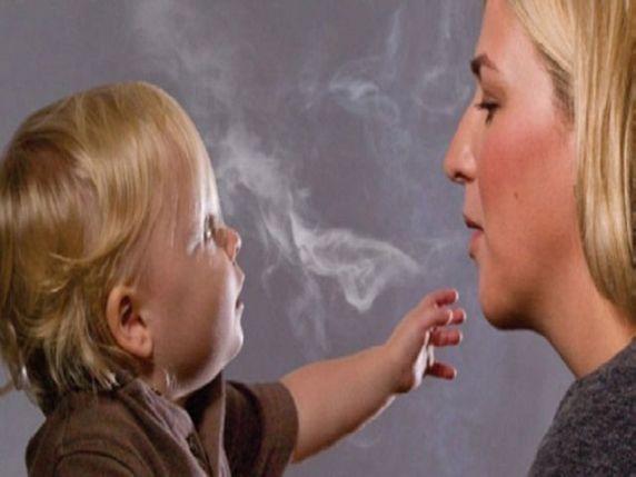 fumo passivo bambini
