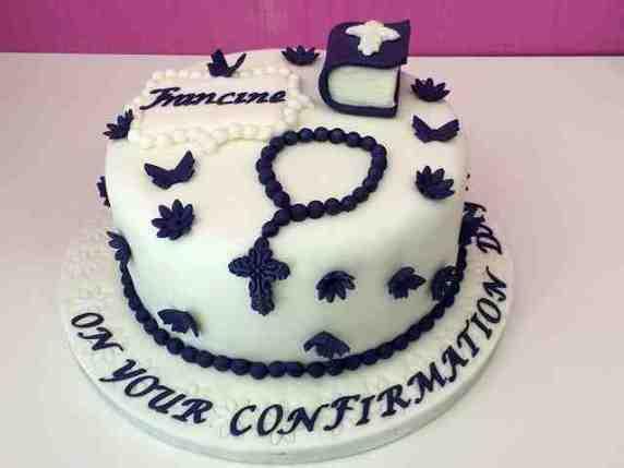 torta per cresima