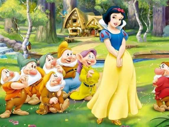 foto Biancaneve e i 7 nani