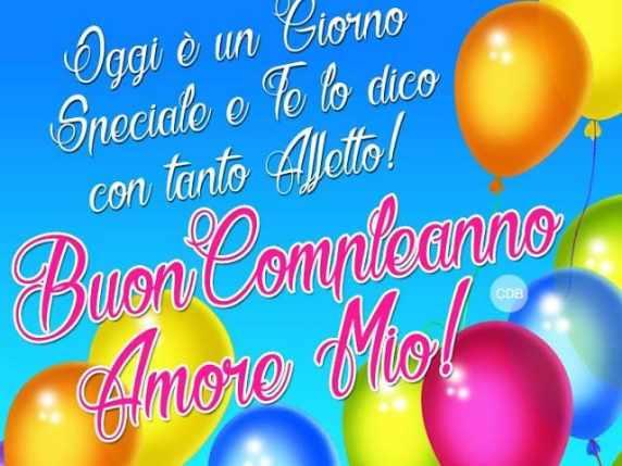 immagini buon compleanno amore 5