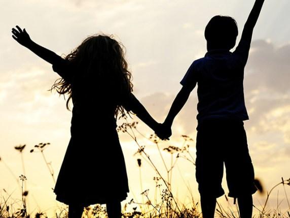 Foto di bambini che simboleggiano amicizia frasi belle amicizia