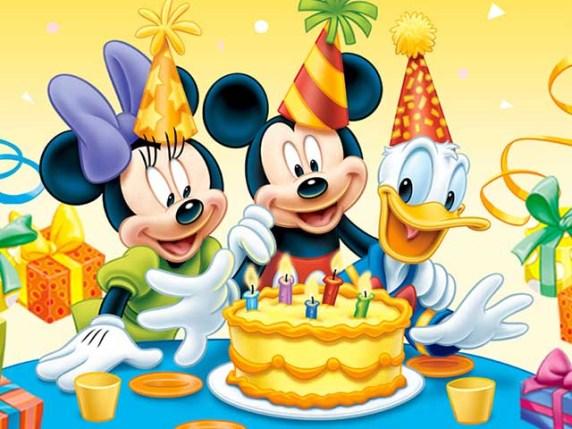 Foto Buon compleanno topolino paperino minnie