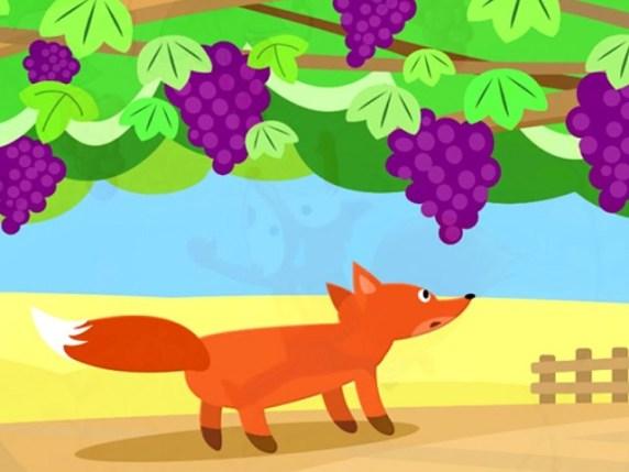 foto la volpe e l'uva 2