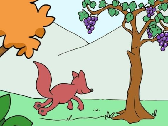 foto la volpe e l'uva 3