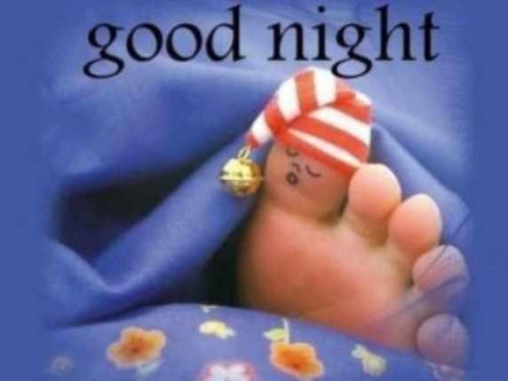 foto immagini spiritose buonanotte piede