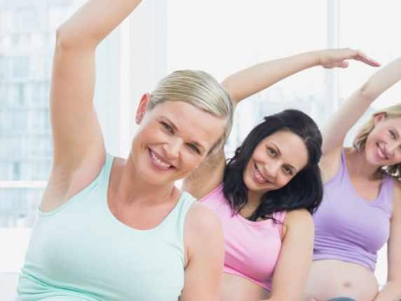 foto ginnastica in gravidanza per trimestre