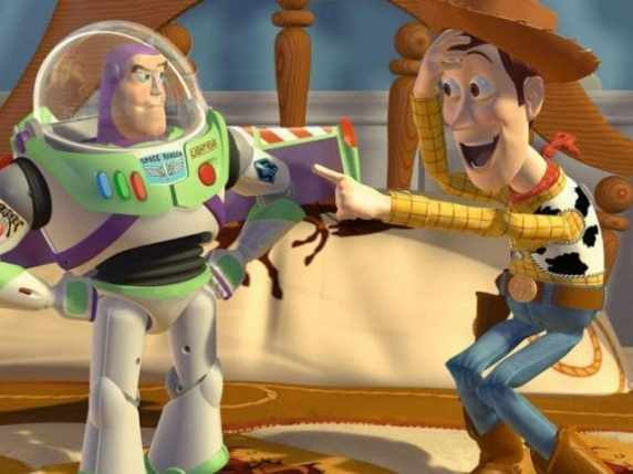foto toy story woody buzz