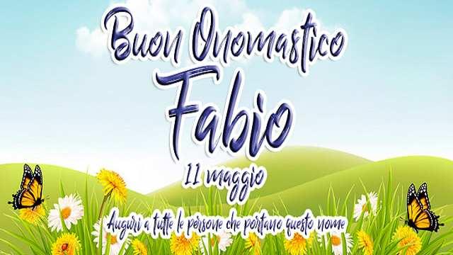 Onomastico Fabio: le frasi e le immagini di auguri e la storia del Santo