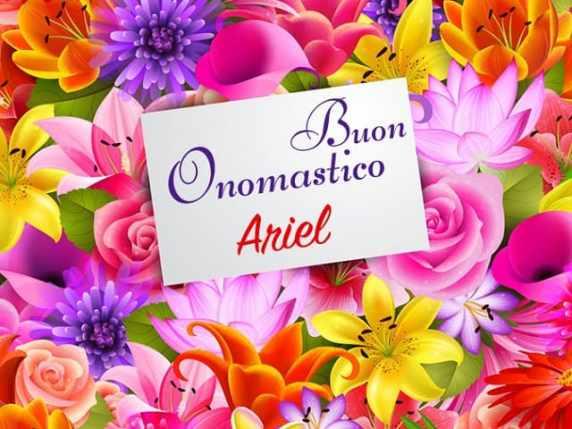 Ariel nome
