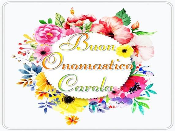 Carola-onomastico