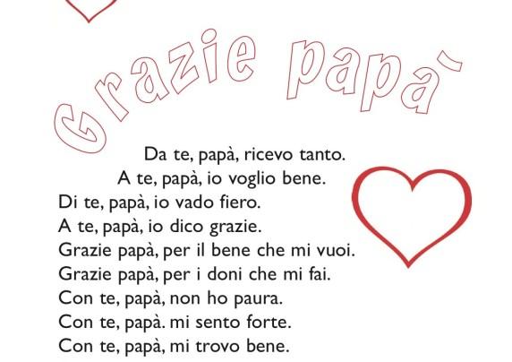 poesie papà