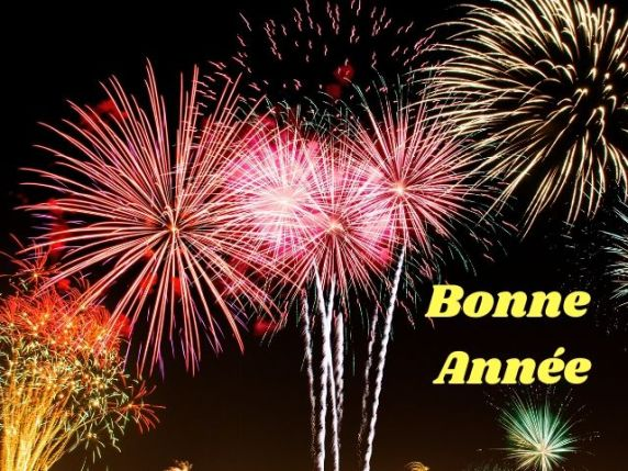 auguri buon anno in francese