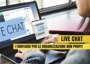 live-chat-i-vantaggi-per-le-organizzazioni-non-profit
