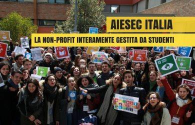 AIESEC Italia, organizzazione internazionale interamente gestita da studenti, è presente anche in Italia e fornisce la possibilità a ragazzi dai 18 ai 30 anni di vivere un'esperienza di mobilità internazionale.