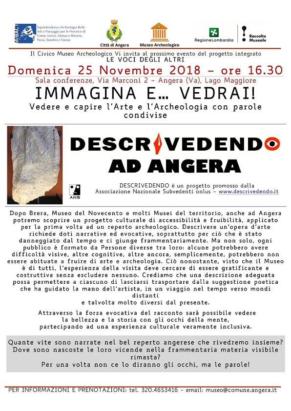 DescriVedendo ad Angera - 25 novembre 2018