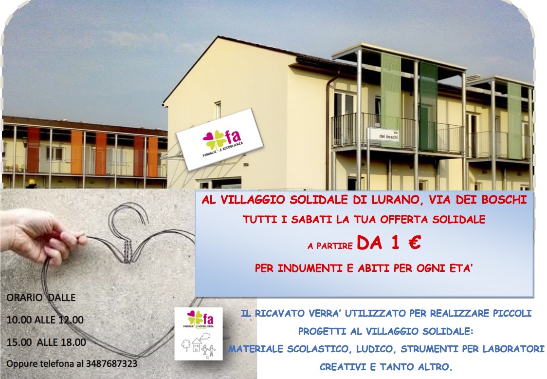 Outlet Solidale al Villaggio di Lurano