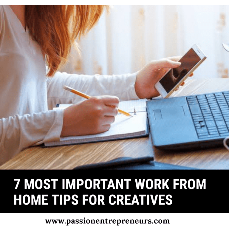 Work From Home Tips For Creatives