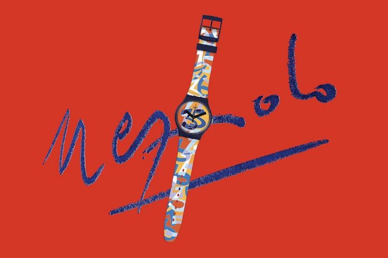 Swatch Ugo orologio che celebra i 35 anni del brand