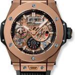 orologi sportivi hublot meca 10 king gold