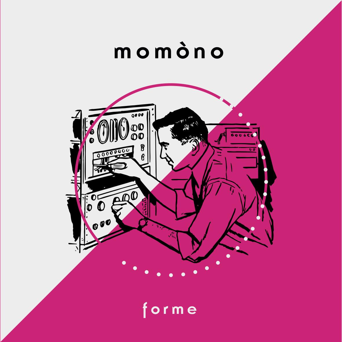Forme di Momòno, singolo di esordio di Edoardo De Santis e Francesco Di Marco