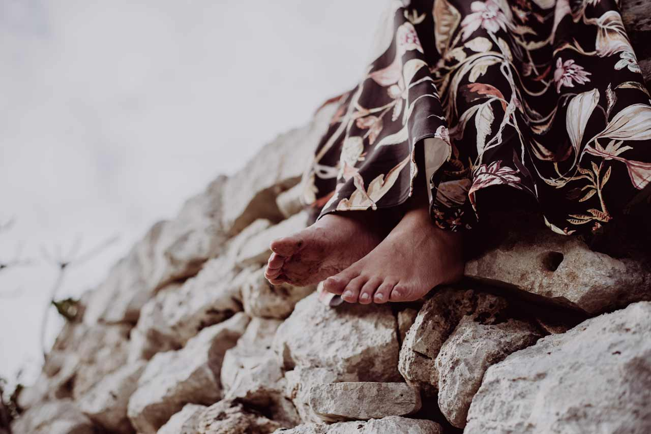 A piedi nudi sulla Terra