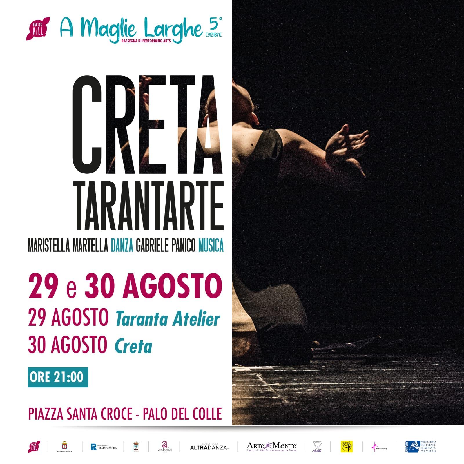 Maristella Martella, locandina, evento