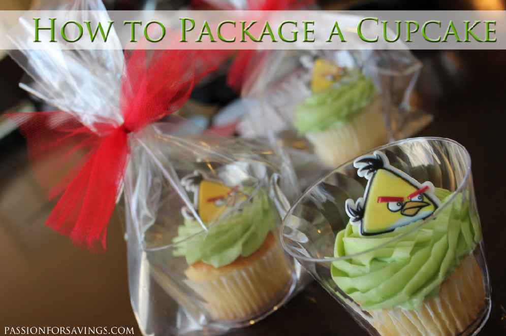 How To Package A Cupcake