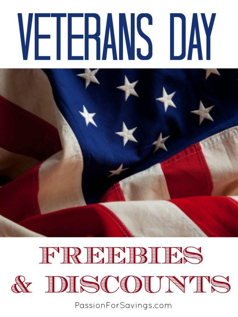 Veteran freebies today