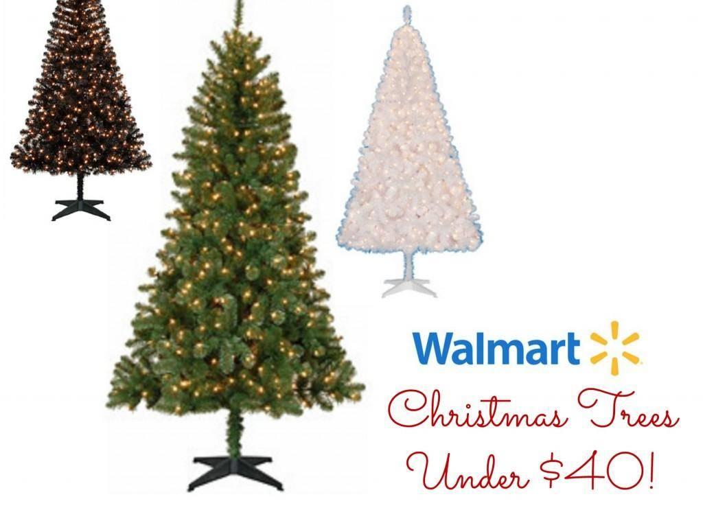 Walmart Christmas Trees 65 Pre Lit Tree Under 40