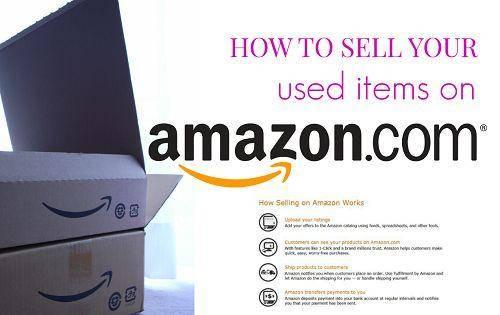 selling your stuff on amazon