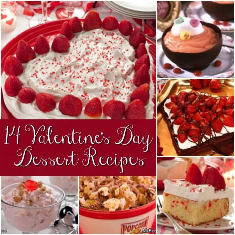 14 Valentines Day Desserts Recipes