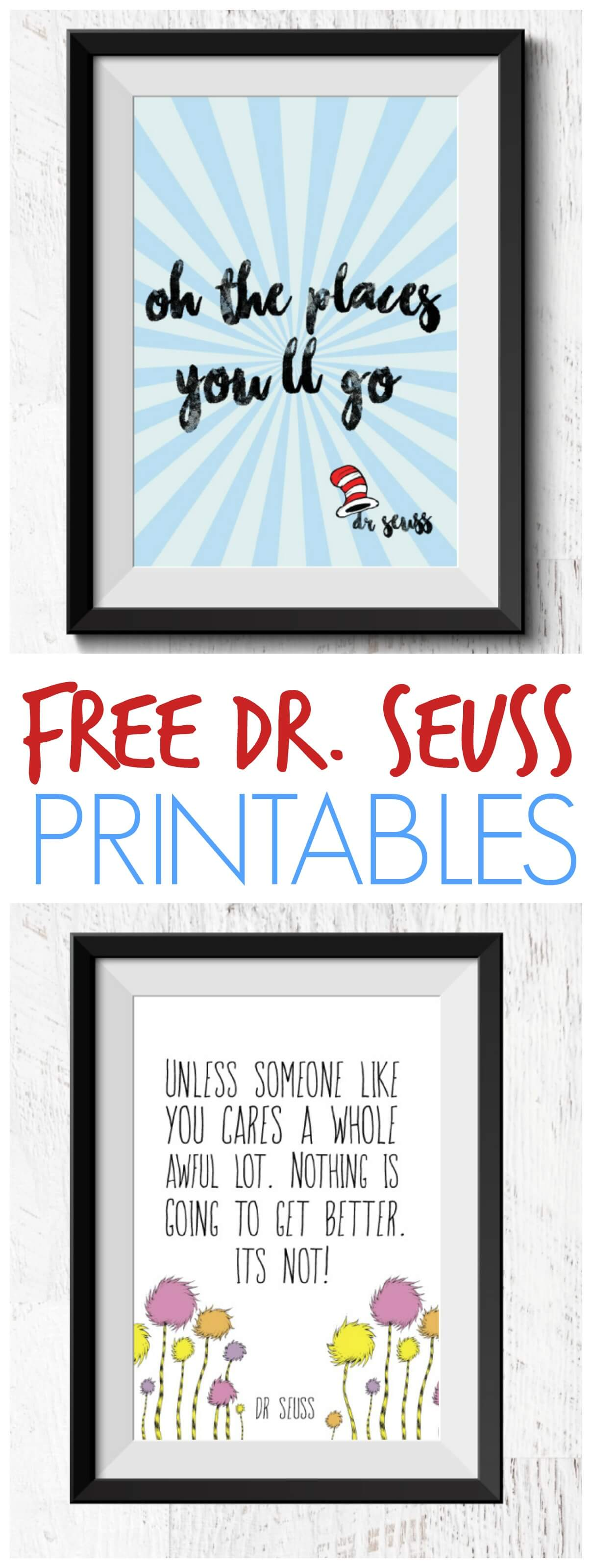 Free Dr Seuss Printable Quotes Books For 1 20 Each