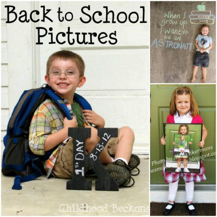 First Day of School Photo Ideas 4
