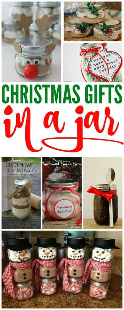 The Ultimate List Of Christmas Gifts In A Jar