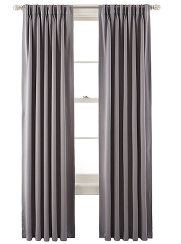 jcpenney curtains clearance sale going