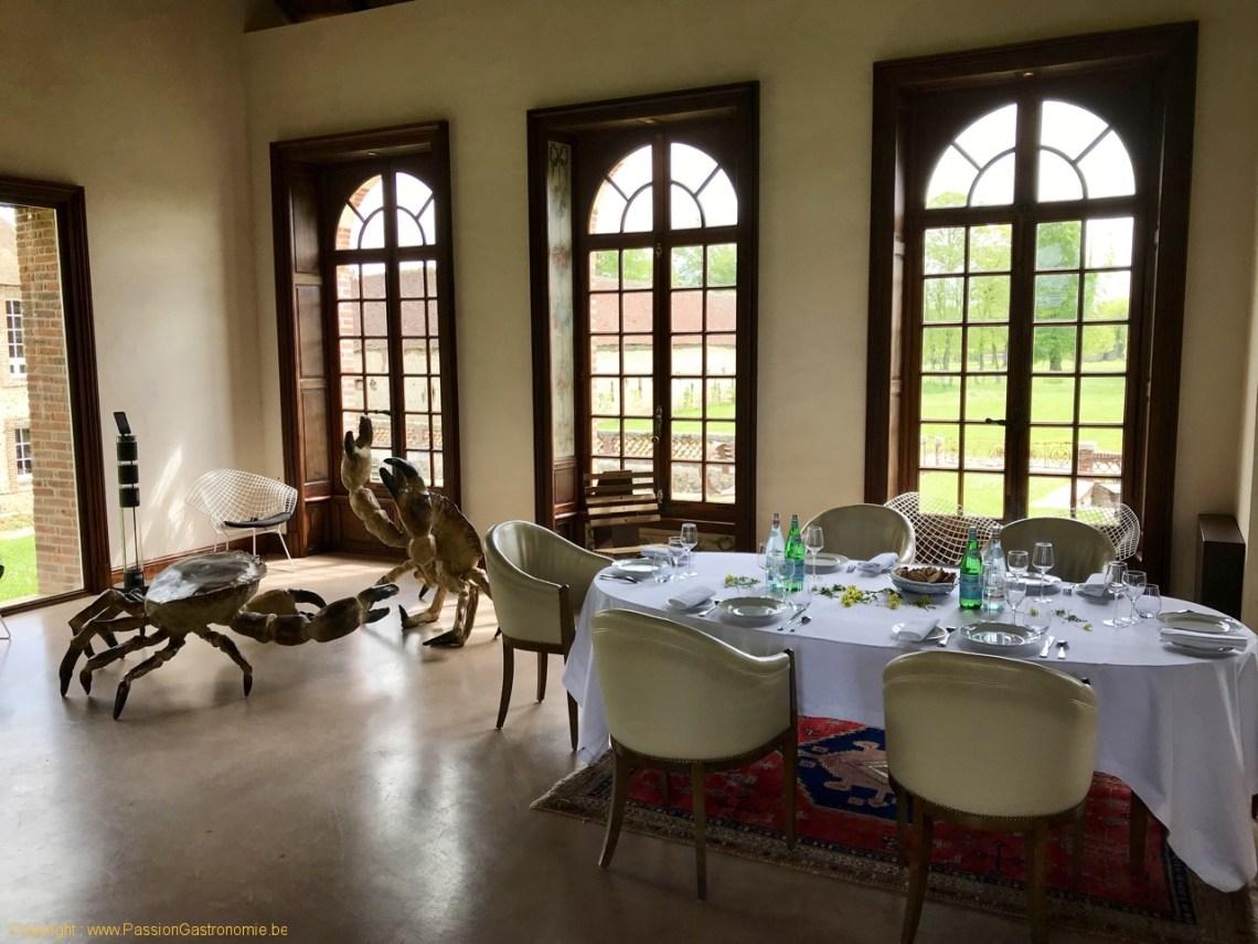 Les Jardins d'Alain Passard - La salle à manger