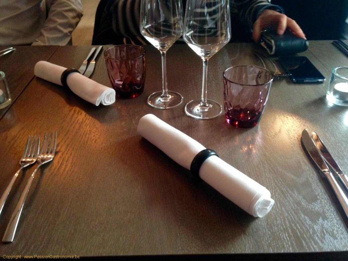 Brinzl, restaurant à Uccle - Table