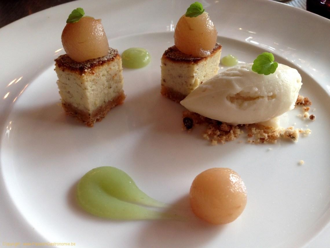Brinzl, restaurant à Uccle - Cheese-cake