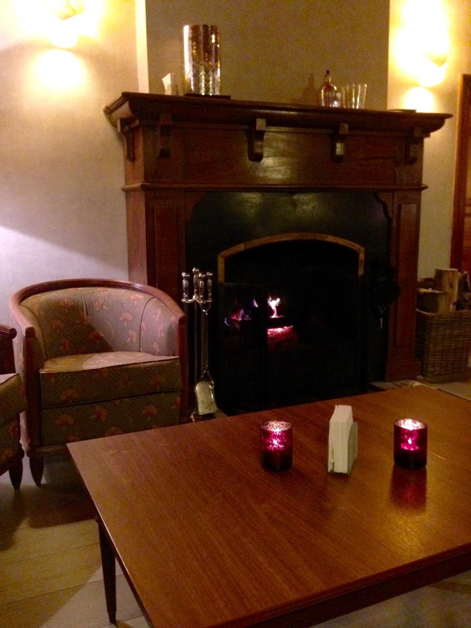 Restaurant Le Chateau de Strainchamps - Salon pour l'apéritif