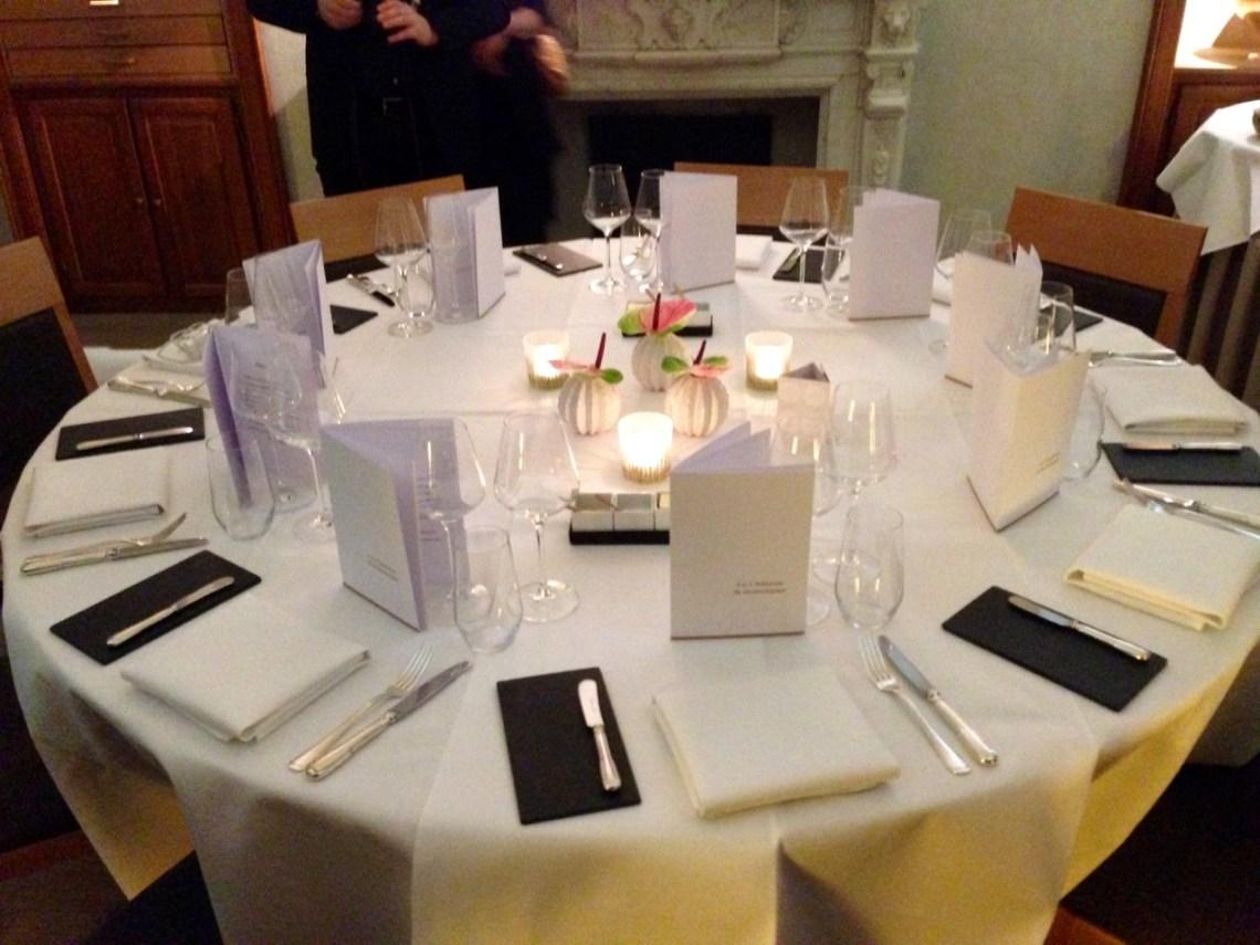 Restaurant Le Chateau de Strainchamps - Table