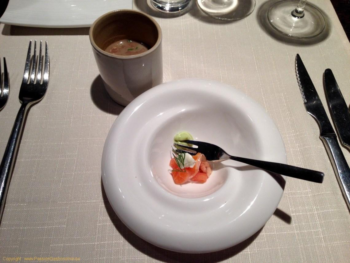 Restaurant Les Trois Petits Bouchons à Mont-sur-Marchienne - Mises en bouche