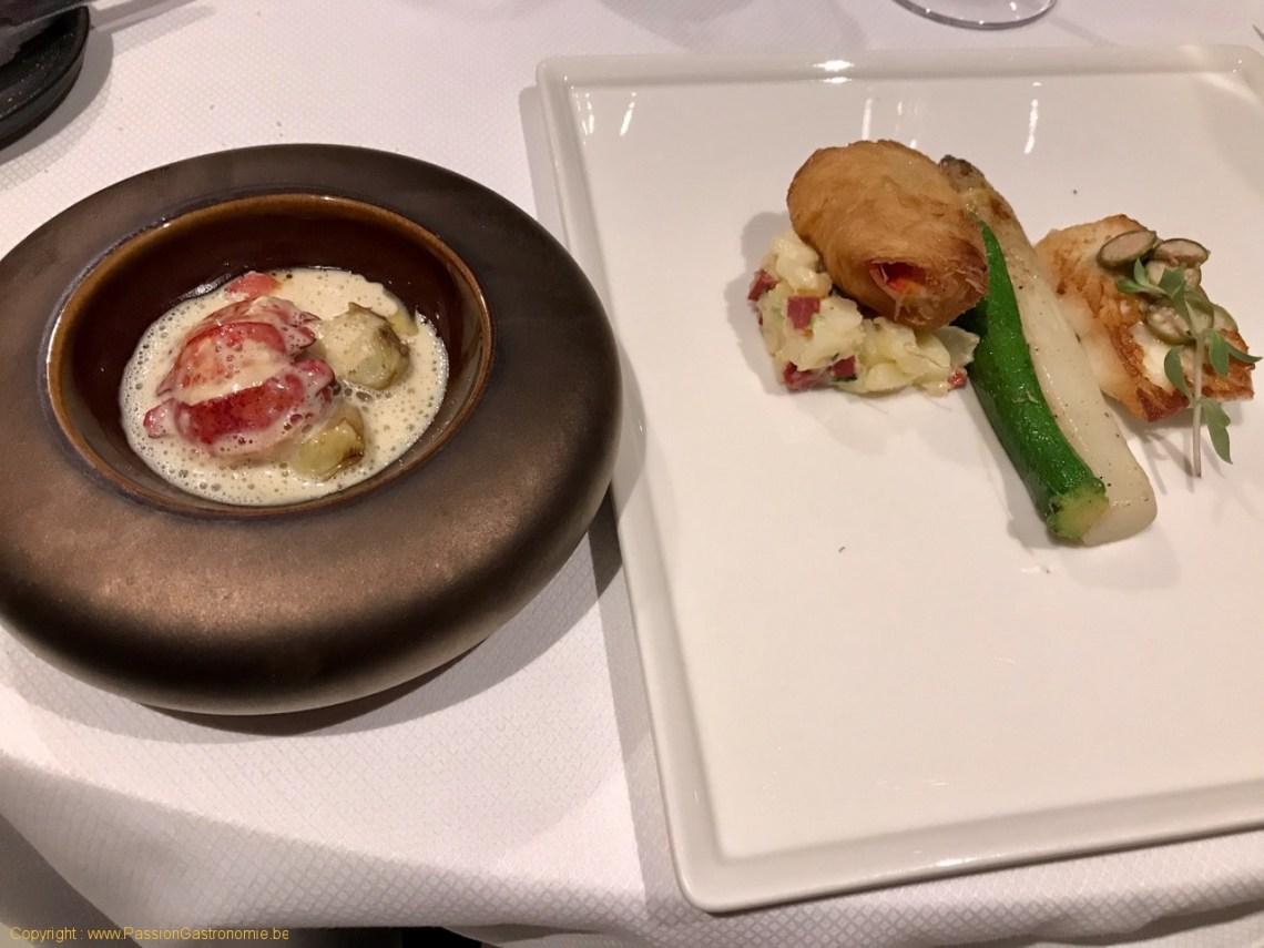 Restaurant Attablez-Vous - Tronçon de turbot meunière