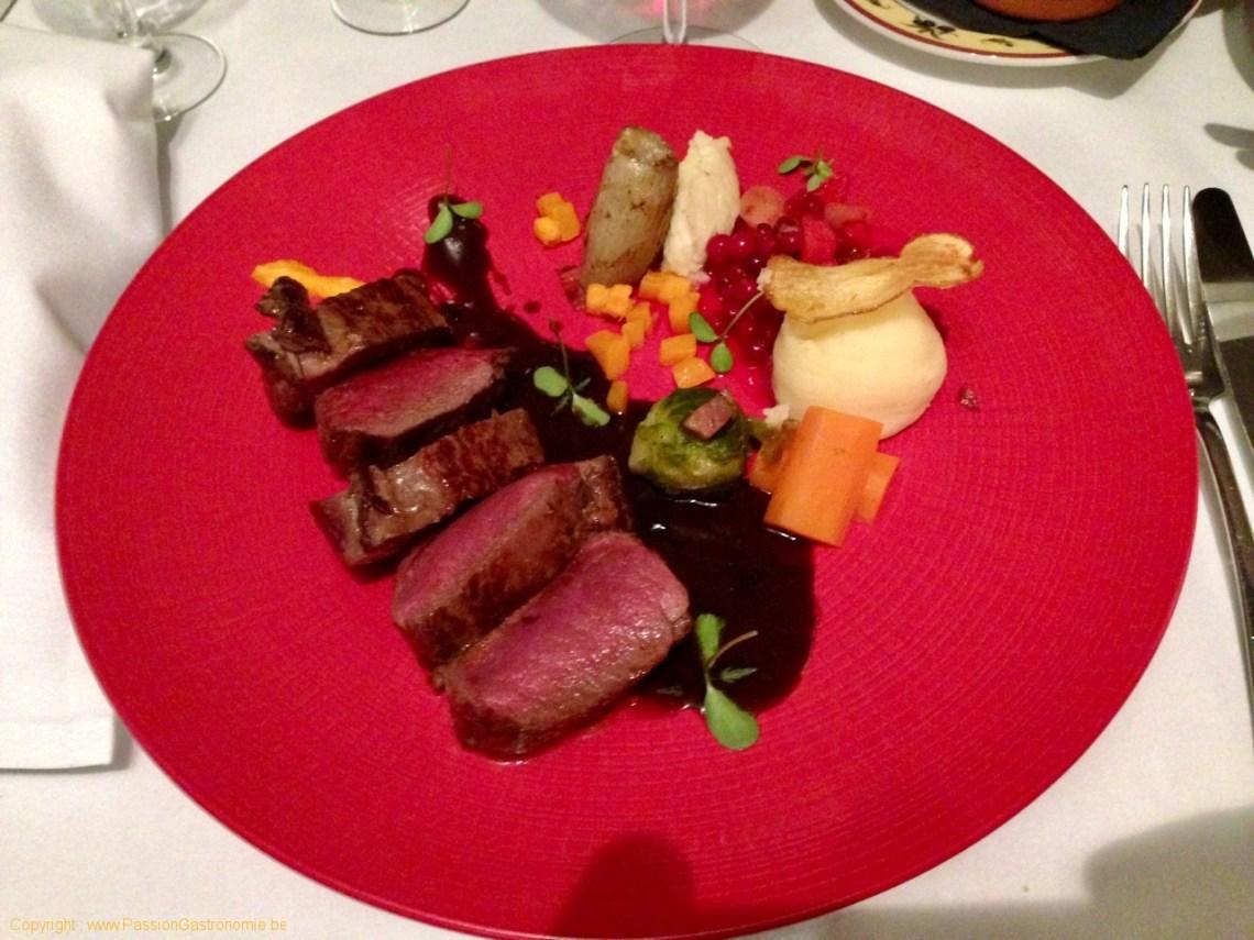 Restaurant L'Attrape Loup - Filet de chevreuil