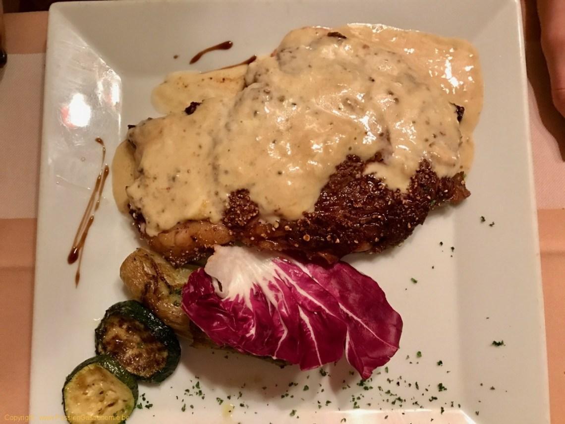 Restaurant Au Provencal - Entrecôte irlandaise grillée