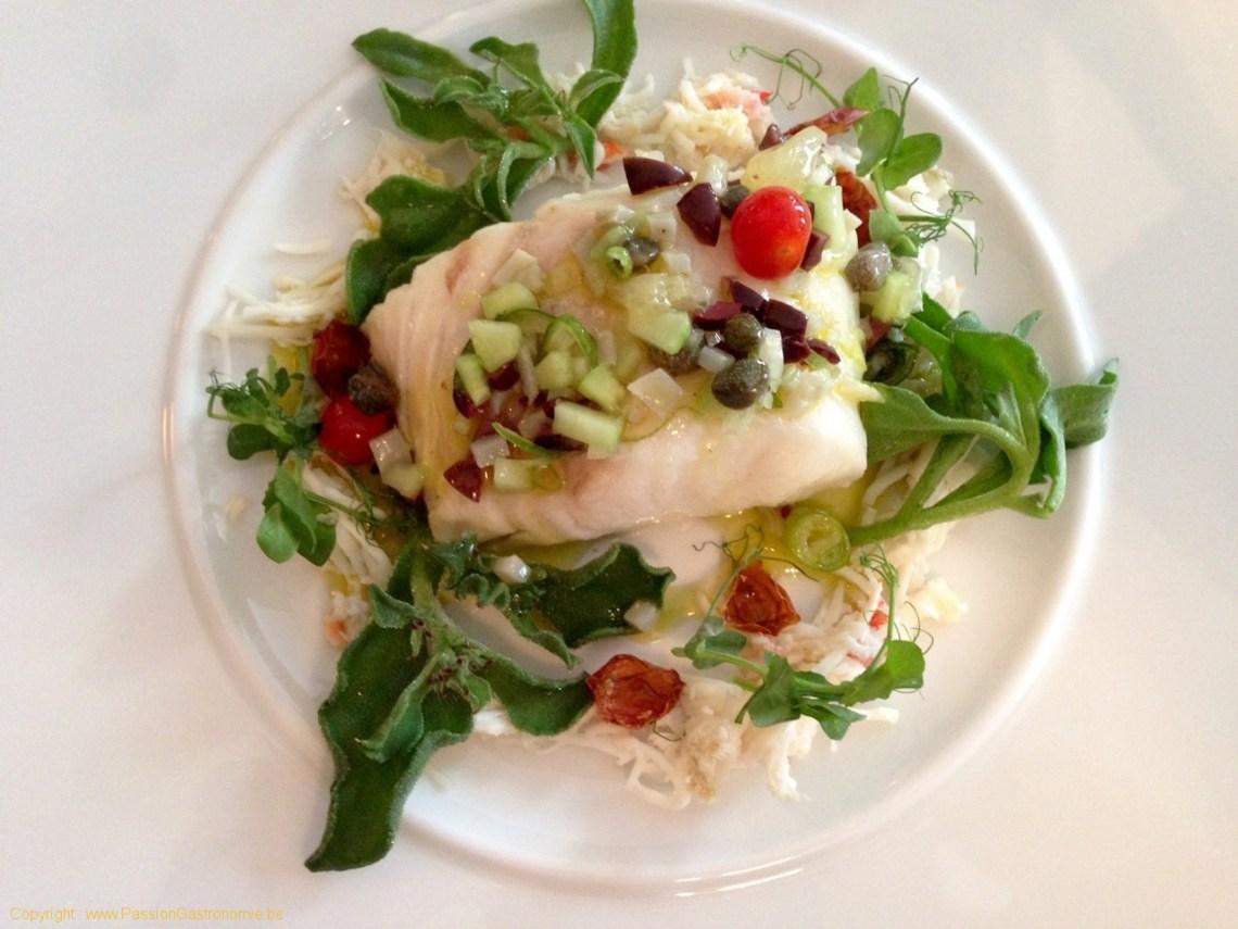 Restaurant l'Ecailler du Palais Royal - Dos Cabillaud sauce antiboise