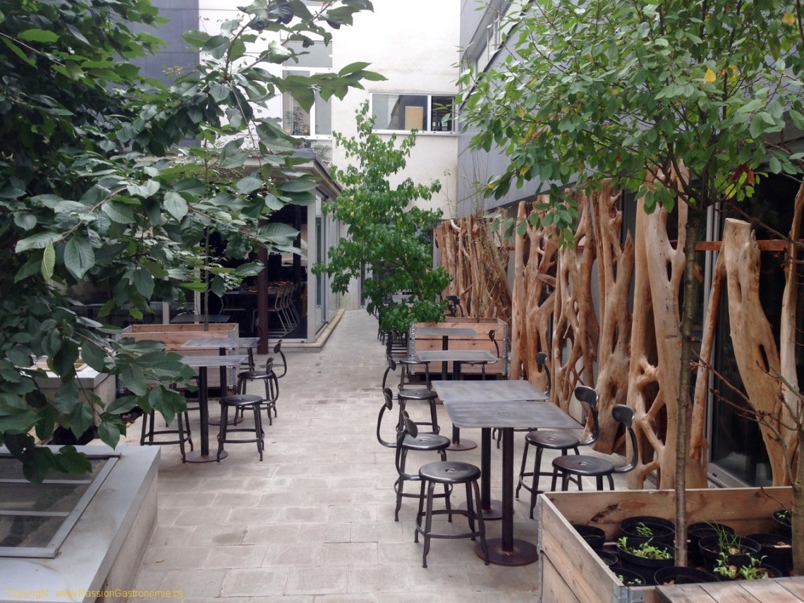 Restaurant Humphrey à Bruxelles - Terrasse