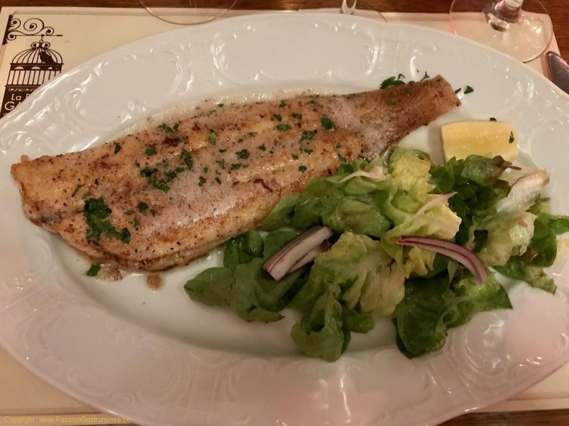 Restaurant La Petite Gayole - Sole meunière